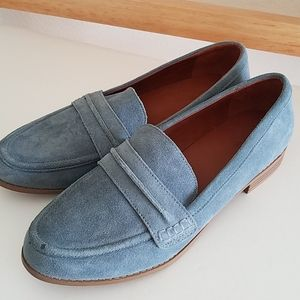 Universal Thread Blue Suede Loafers